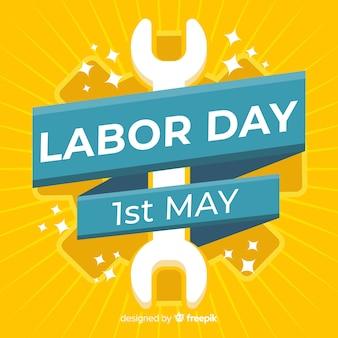 Sunburst effect labor day background