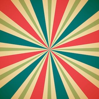 Sunburst multicolor pattern background.