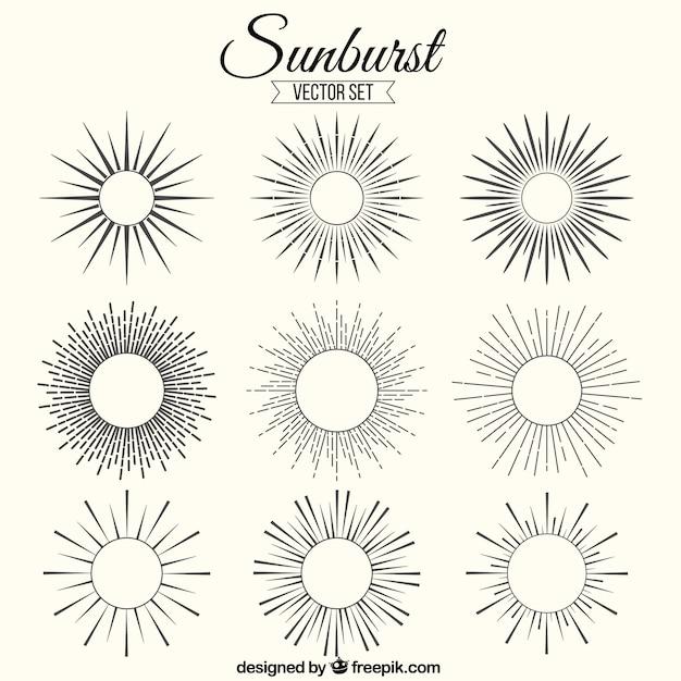 sunburst vectors photos and psd files free download rh freepik com free vector sunburst sunburst vector png