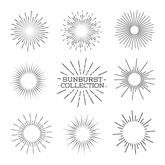 Sunburst set.