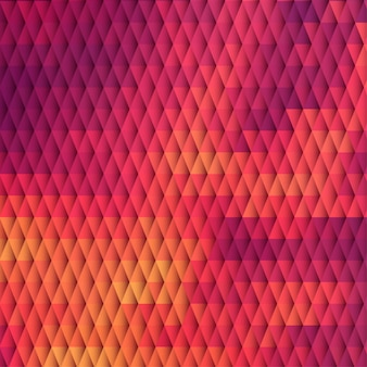 Sundown themed background with diamond grid