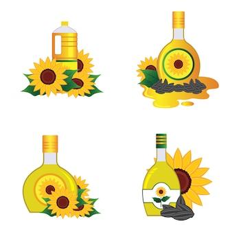 Подсолнечное масло в бутылке
