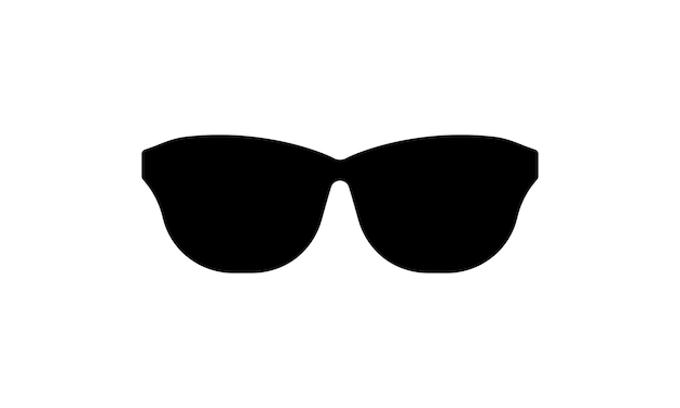 Sunglasses icon. sunny weather. vector on isolated white background. eps 10.