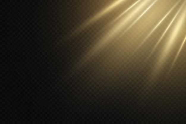 Солнечный лучик . светящиеся световые эффекты.