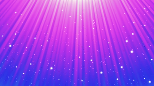 Sunlight rays background with light effects. blue backdrop with light of radiance. vector illustration