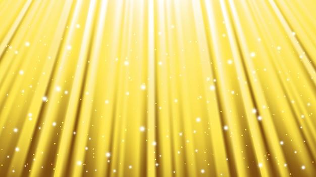 Фон лучей солнечного света со световыми эффектами. желтый фон с сияющим светом. векторная иллюстрация