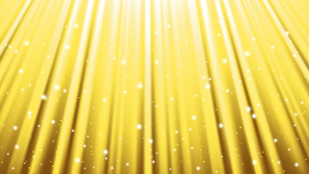Sunlight rays background with light effects. yellow backdrop with light of radiance. vector illustration