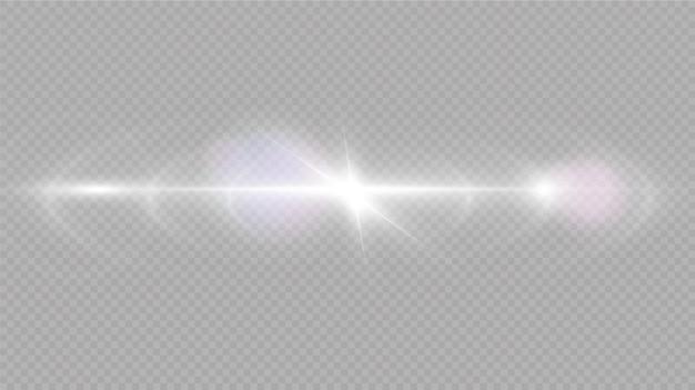 Sunlight special lens flare light effect