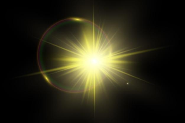 Sunlight special lens flare light effect.