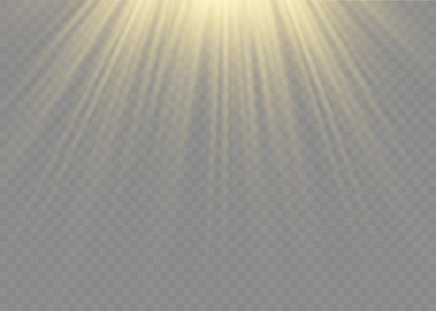 Sunlight special lens flash light effect