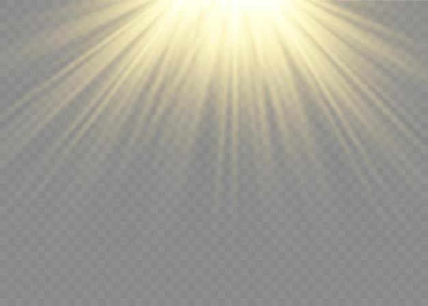 日光、特殊光効果、太陽レンズフラッシュ