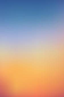 아침 하늘에 일출 저녁에 일몰과 함께 세로 극적인 황혼 풍경