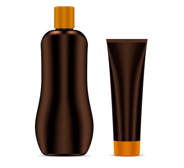 Sunscreen protection sun care cosmetic container