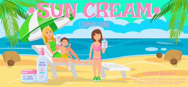 Sunscreen for whole family