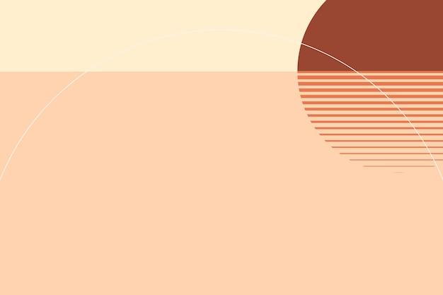 Sfondo estetico tramonto vettore stile grafico svizzero