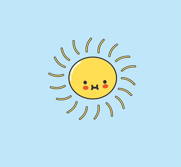 Sunshine cute kawaii