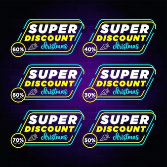 Super discount for christmas button set premium