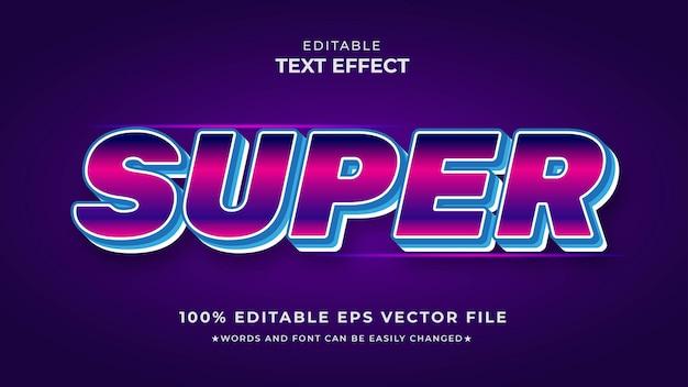 Редактируемый файл eps с текстовым эффектом суперградиента