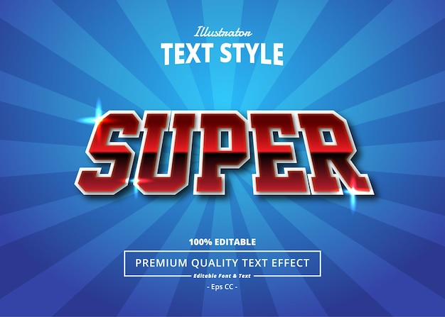Super illustrator text effect