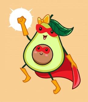 Супер мама авокадо
