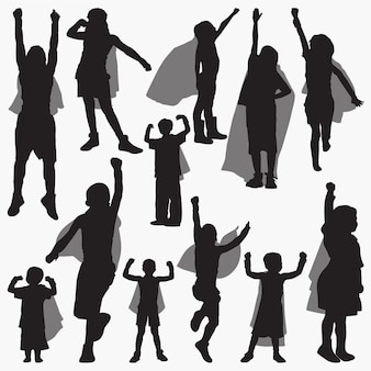 Super power silhouettes