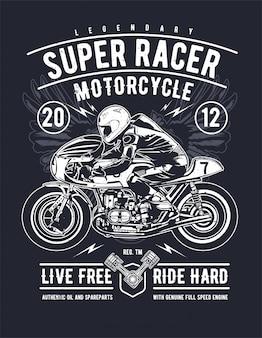 Super racer motorcycle