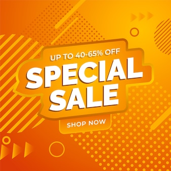 Super sale abstract orange background