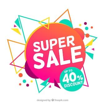 Super sale background