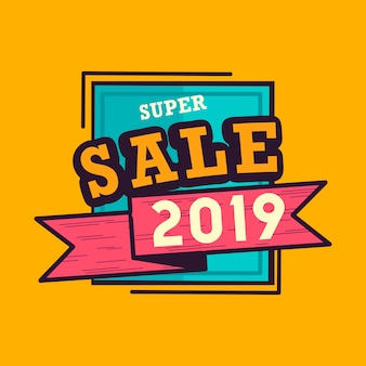 Super sale badge