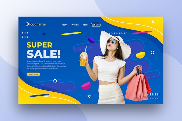 Super sale banner design