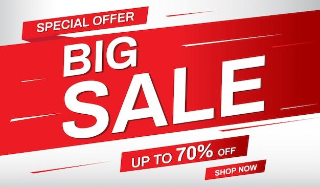 Super sale banner. sale up to 70% off.