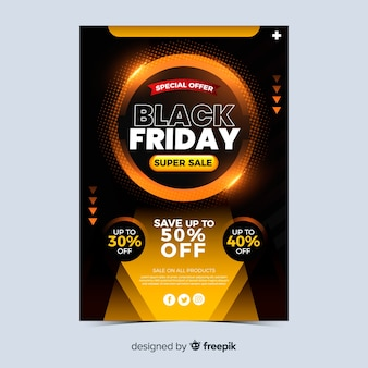 Super sale black friday banner