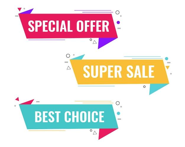 Super sale labels big set