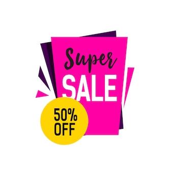 Super sale lettering
