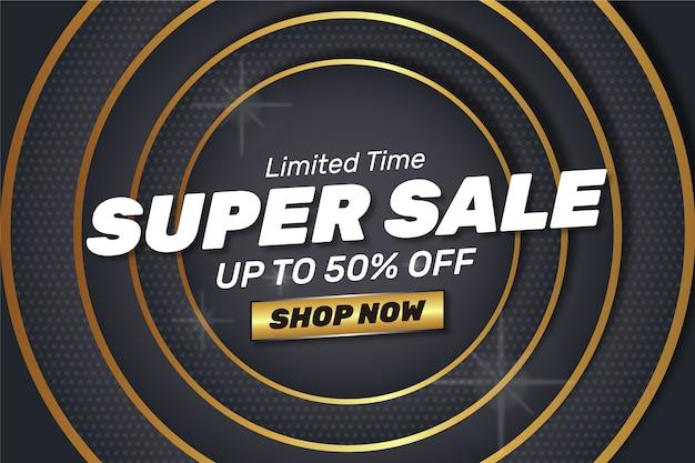 Super sale shop now abstract golden dark background