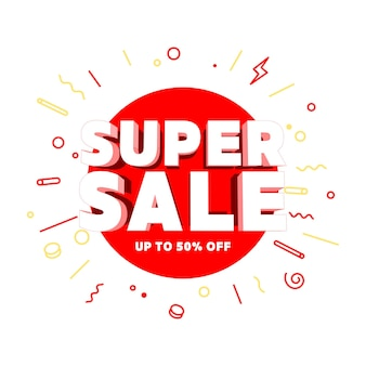 Super sale special offers and promotion