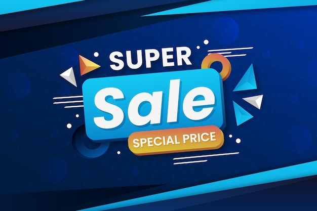 Super sale with special price