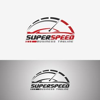Super speed - race car logo