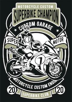 Superbike champion