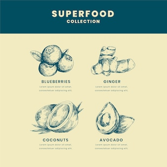 Superfood collection theme