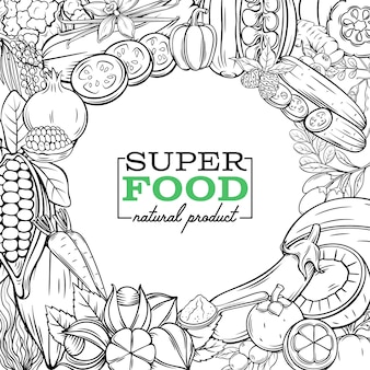 Superfood fruits and beries