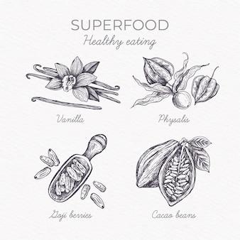 Концепция коллекции superfood
