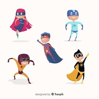Superhero kid collection
