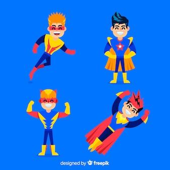 スーパーヒーローの子供セット