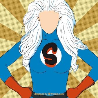 Superhero женщина