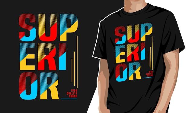 スーペリア-プリント用グラフィックtシャツ