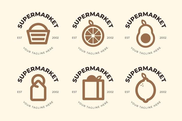 Тема логотипа супермаркета