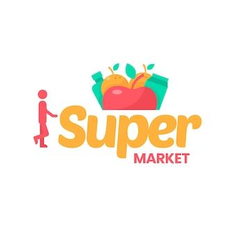 Супермаркет логотип