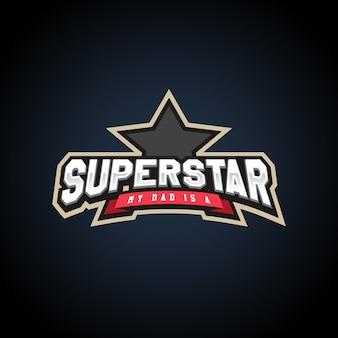 Superstar power full typography