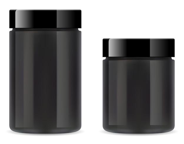 サプリメント瓶のイラスト